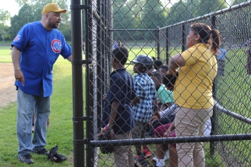 The Englewood Police Youth Baseball League